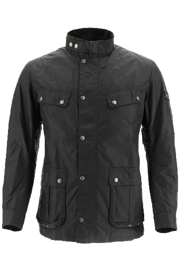 barbour sapper waxed military style jacket