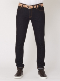 nudie jeans grim tim orange cloud jeans