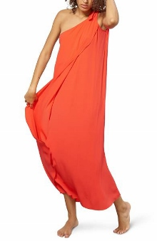 mara hoffman one shoulder dress