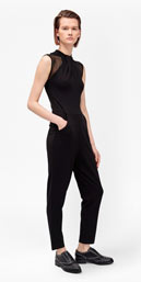 tania tuck high neck jumpsuit