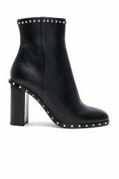 rockstud trim booties